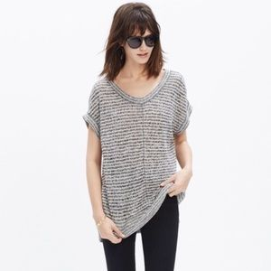 Madewell Linen Side Vent Tunic T / Size XXS